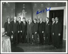 1970s-80s GERALD FORD & GEORGE BUSH SIGNED PHOTOS W/ FIRST LADIES AND MORE