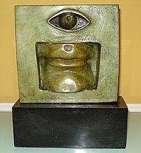 Rare American Bronze Sculpture Man-Ray