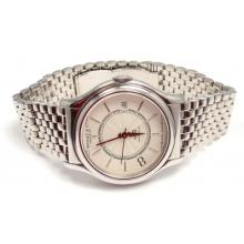 BEDAT & COMPANY NO.8 STAINLESS STEEL WHITE DIAL AUTOMATIC MENS WATCH