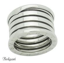 Bvlgari Bulgari B. Zero1 18k White Gold 4 Band Ring