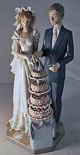 LLADRO BRIDE AND GROOM