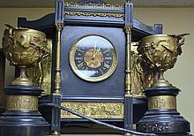1900'S TIFFANY&CO CLOCK SET