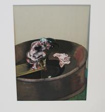 FRANCIS BACON COLOR PRINT FROM BOOK