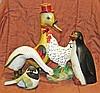Five Decorative Birds & Fowl