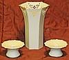 Lenox Vase & Candlesticks