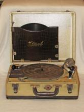 Birch Model No. 500 Portable Phonograph