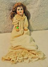 Vintage Porcelain & Composition Doll