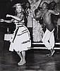 Robert Doisneau (1912-1994) Danseurs antillais. Tirage argentique. Tampon au dos à l'encre rouge Circa 1950. 21 x 17,5 cm...