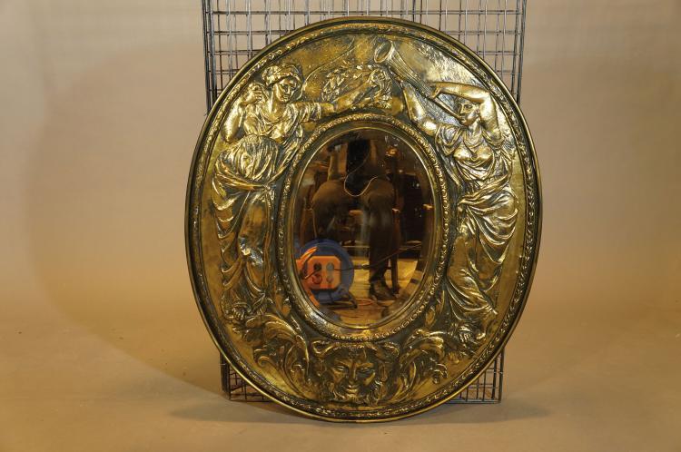 Miroir de forme ovale for Forme miroir