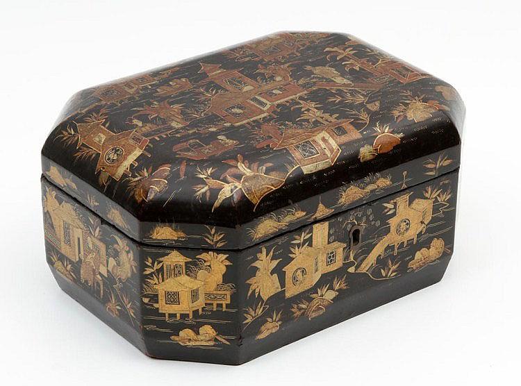 OCTAGONAL ORIENTAL BOX