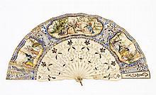 EUROPEAN FAN 19TH CENTURY