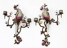 PAIR OF WALL APPLIQUES