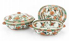 PAIR OF TUREENS WITH LIDS