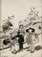 EMMERICO NUNES (1888-1968), HUMOROUS SCENE
