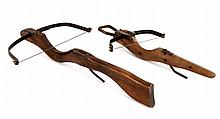 TWO CROSSBOWS