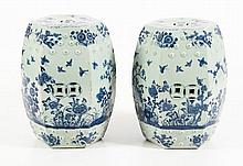 PAIR OF ASIAN STOOLS