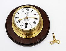 FRENCH NAVY CLOCK, 19TH CENTURY