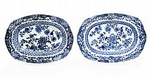 PAIR OF CUT OUT HOLLOW PLATTERS
