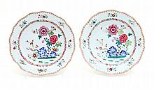 PAIR OF HOLLOW CUT OUT PLATES
