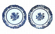 PAIR OF CUT OUT PLATES