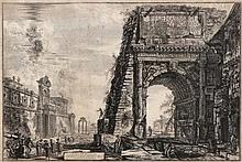 GIOVANNI BATTISTA PIRANESI (1720-1778), VIEW OF THE ARCH OF TITUS