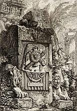 GIOVANNI BATTISTA PIRANESI (1720-1778), RUINS