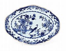 LOBED OVAL LONG PLATE