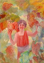 BENVINDO CEIA ( 1870-1941), GRAPE HARVEST