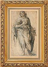 (ATTRIBUTABLE TO) CARAVAGGIO (1497-1543), ECSTASY OF A SAINT