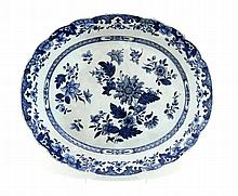 CUT OUT OVAL PLATTER