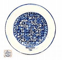 MANUEL CARGALEIRO (N.1927), DECORATIVE PLATE