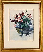 ALBERTO DE SOUZA (1880-1961), JARRA COM FLORES (VASE WITH FLOWERS)