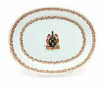 PLATTER WITH COAT OF ARMS