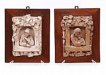 PAIR OF SUSPENSION PLAQUES