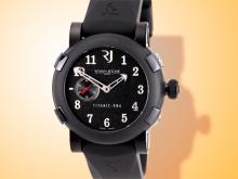 Romain Jerome Titanic DNA Five Black I Men's Stainless Steel Automatic Watch