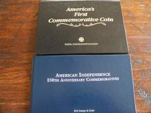 PCS Two Half Dollar Commemorative Coins dated 1892 & 1926