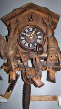 Large Vintage Cuckoo Clock in Great Case