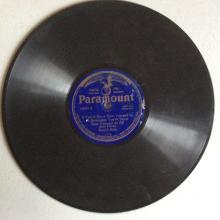 1922 Sissel & Blake 78 on Paramount 12002