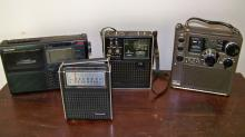 Large Group of 13 Portable Radios and Equipment