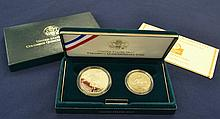 1992 Columbus Qunicentenary Proof Coin Set