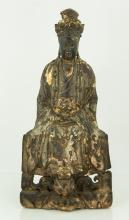 Chinese Large Wood Statue (14th – 17th century)