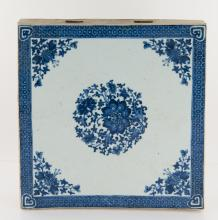 Chinese Large Porcelain Tile 18th/19th Century