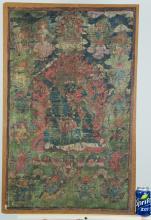 Chinese Tibetan 18th/19th Century Large Thangka