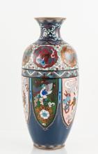 Japanese Meiji Cloisonne Vase