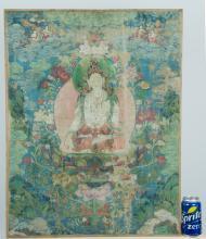 Chinese East Tibet Thangka 18th / 19th Century