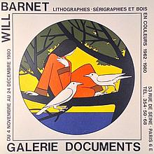 Will Barnet for Galerie Documents