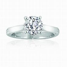 Cartier Diamond Solitare