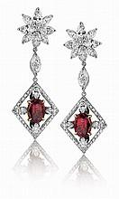 Stunning Ruby earrings