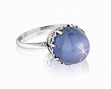 Star Sapphire Ring