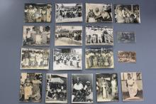 A collection of 17 large format black and white photos, Nigeria, mid 20th C.